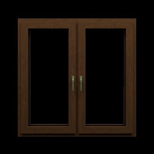 T-Energy okna kolor orzech