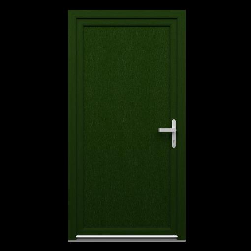 Drzwi techniczne AJTO_kolor_ciemny zielony