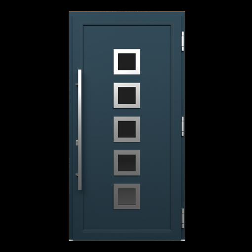 Drzwi wejsciowe InDoor_kolor_antracyt gladk