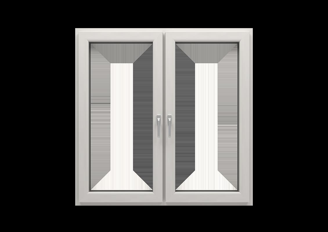T-Passive Plus okna kolor biały kremowy