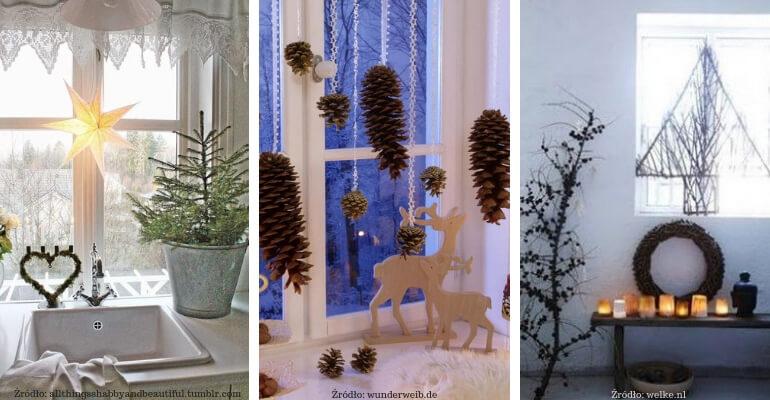 Naturalne ozdoby świąteczne