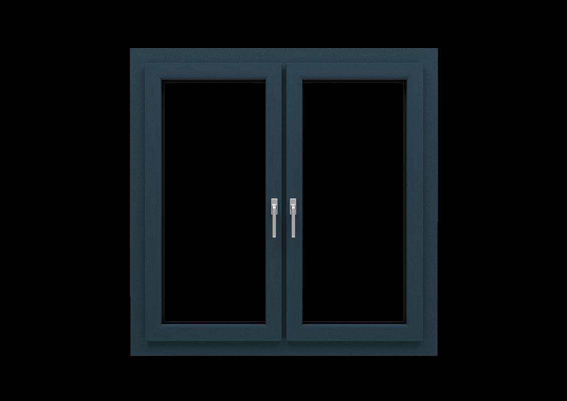 T-Passive Plus okno renowacyjne kolor antracyt strukturalny