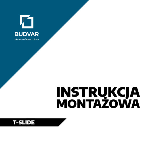 Instrukcja montażu T-Slide Budvar