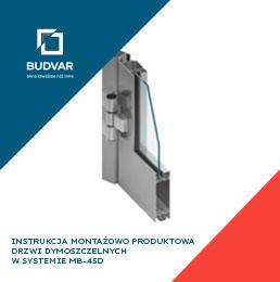 Instrukcja montażowo-produktowa drzwi dymoszczelnych Budvar